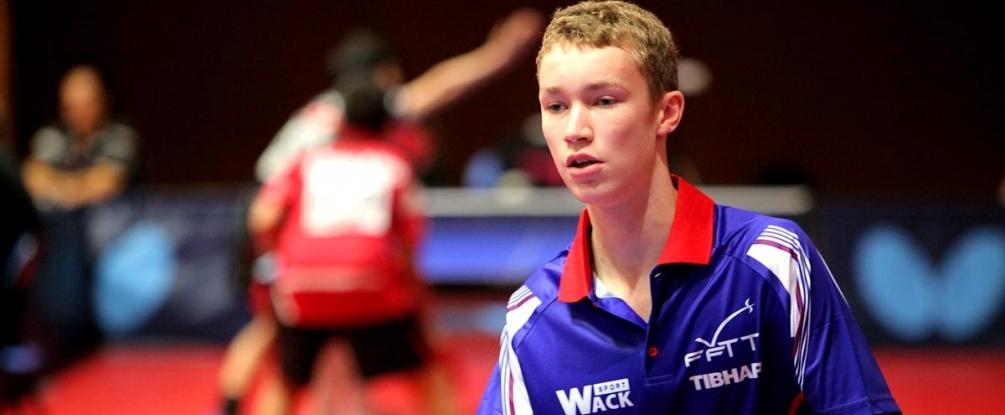 V. Picard vainqueur du tournoi par équipes avec L. Bardet (©Ittfworld)