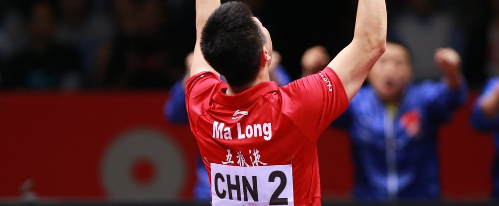 Le Chinois Ma Long, n°1 mondial depuis mars 2015