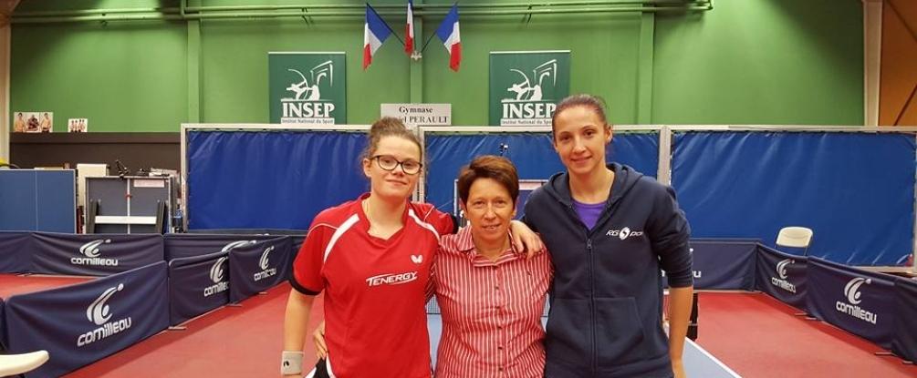 Stéphanie LOEUILLETTE vainqueur du tournoi de sélection ©FFTT