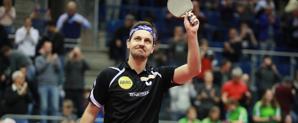 L'Allemand Timo Boll