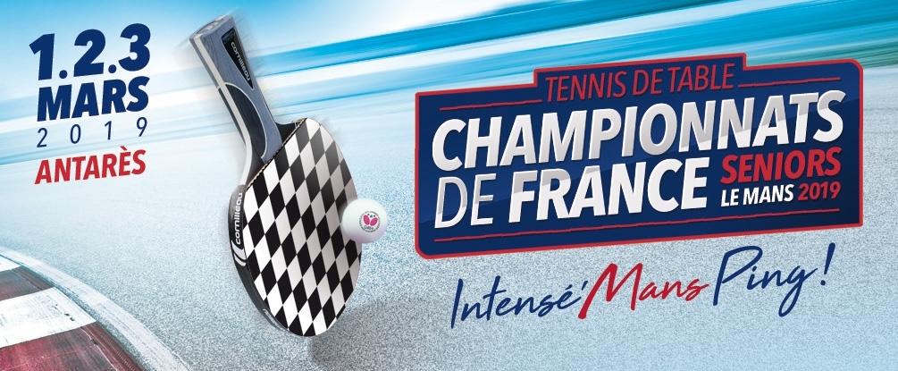 """Résultat de recherche d'images pour """"championnat de france tennis de table 2019"""""""