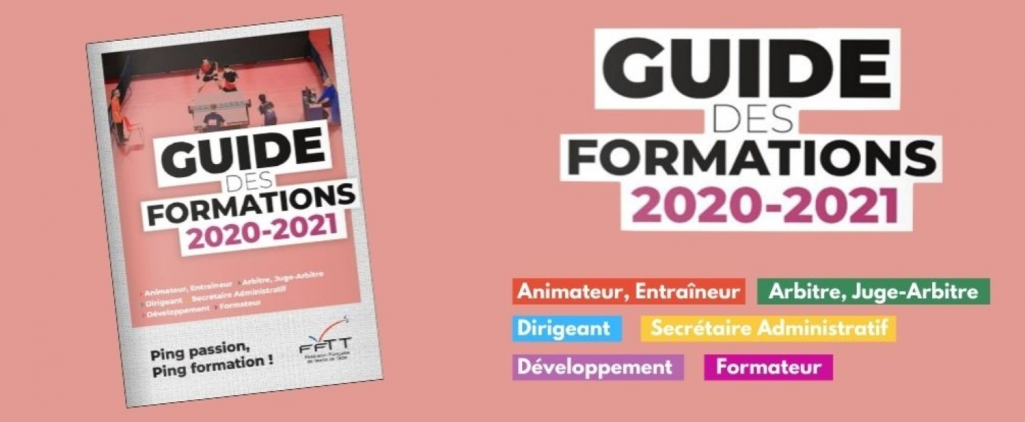 Guide des formations 2020/2021